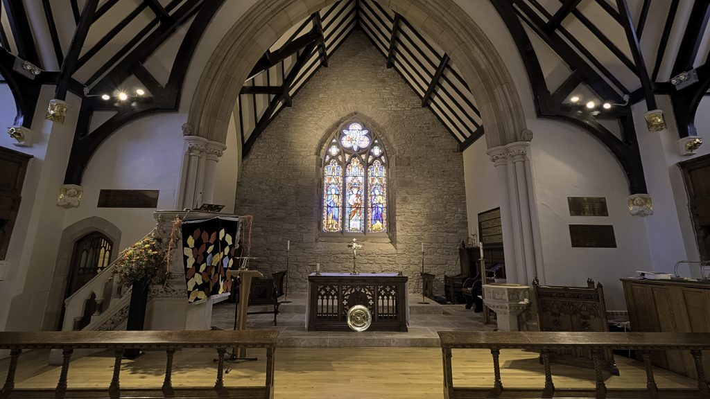 The Sanctuary in St John's Scottish Episcopal Church, Perth.